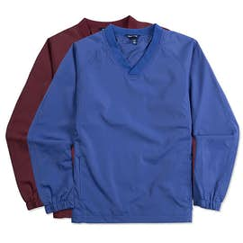Sport-Tek Youth V-Neck Windshirt