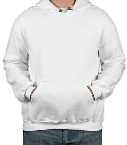 Custom Gildan Premium Blend Midweight Pullover Hoodie - Design ...