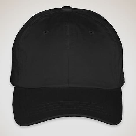 Yupoong Cotton Twill Hat - Black