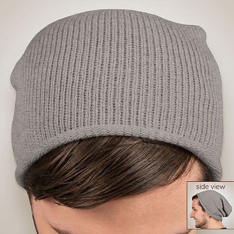 Sportsman Slouchy Knit Beanie - Heather Grey