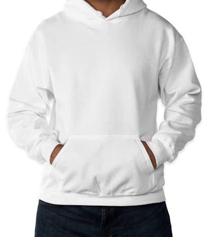 Gildan Dryblend® 50/50 Pullover Hoodie - White