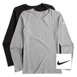 Nike Ladies 100% Cotton Long Sleeve T-shirt