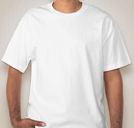 Hanes Beefy-T - Color: White