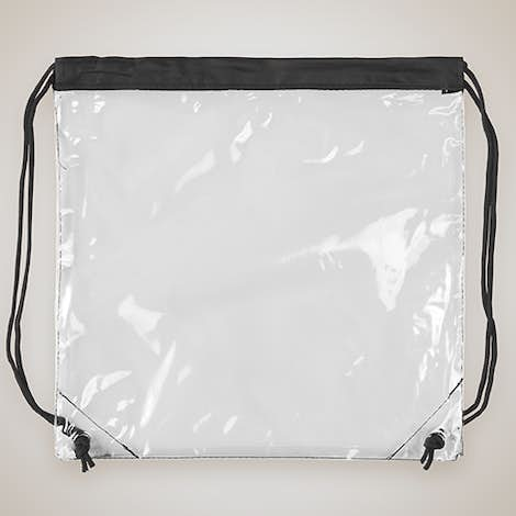 Small Clear Sport Pack - Black