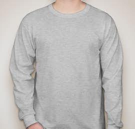 Jerzees 50/50 Long Sleeve T-shirt - Color: Ash