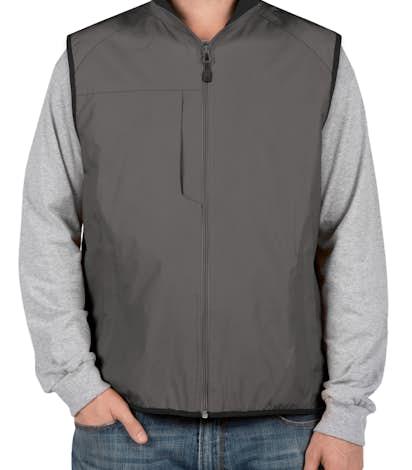 Port Authority Challenger Vest - Steel Grey / True Black