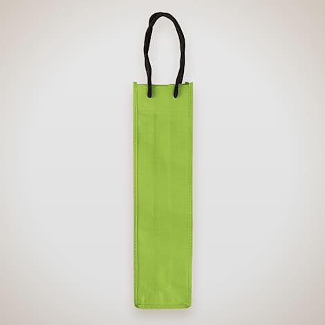 Single Bottle Non-Woven Wine Bag - Pear Green