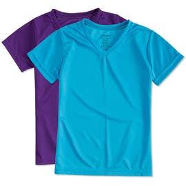 Augusta Youth Girls V-Neck Performance Shirt