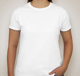 Canada - Gildan Ultra Cotton Ladies T-shirt - Color: White