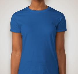 Gildan Ultra Cotton Ladies T-shirt - Color: Royal