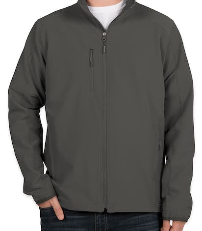 The North Face Tech Stretch Soft Shell Jacket - Asphalt Grey