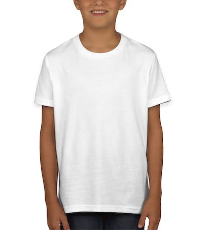Canvas Youth Jersey T-shirt - White