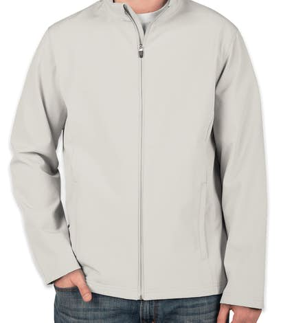 Team 365 Soft Shell Jacket - Sport Silver