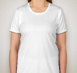 Sport-Tek Ladies Competitor Performance Shirt - Color: White