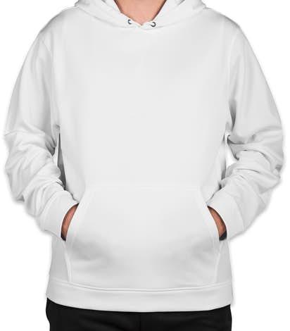Sport-Tek Performance Pullover Hoodie - White