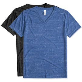 Canvas Melange Blend V-Neck T-shirt