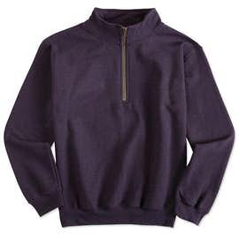 Gildan Vintage Quarter Zip Sweatshirt