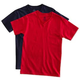Fruit of the Loom 100% Cotton V-Neck T-shirt