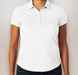 Nike Golf Ladies Dri-FIT Smooth Performance Polo - Color: White