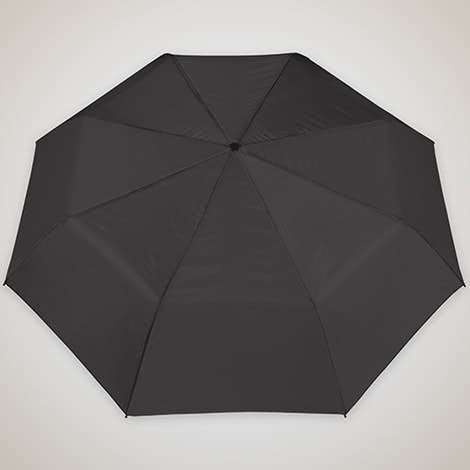 "Arc Budget Solid Telescopic 42"" Umbrella - Black"