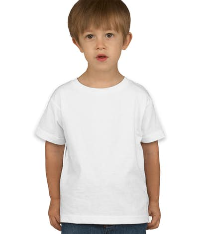 Rabbit Skins Toddler T-shirt - White