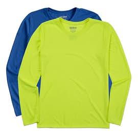 Gildan Ladies Soft Jersey Long Sleeve Performance Shirt