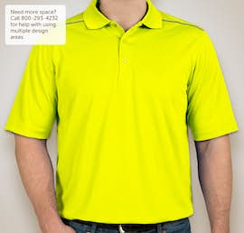 Core 365 Reflective Performance Polo - Color: Safety Yellow