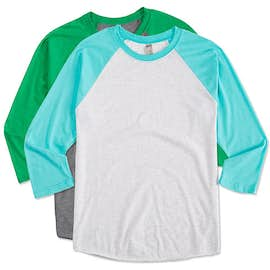 Next Level Tri-Blend Baseball Raglan