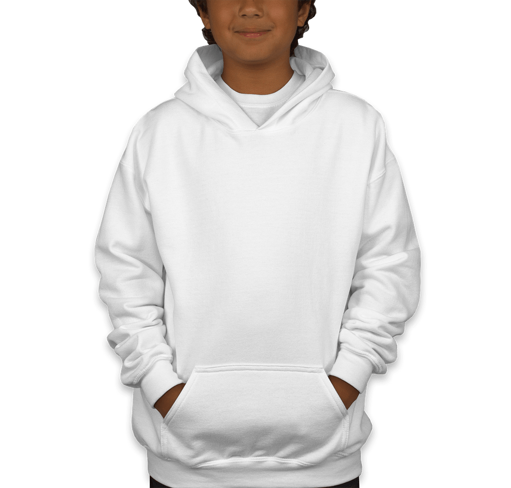 Gildan Youth Lightweight Hooded Sweatshirt - Custom Kids Hoodies