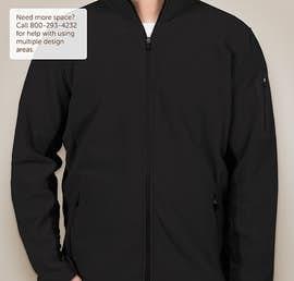 Port Authority Colorblock Full Zip Microfleece Jacket - Color: Black / Black