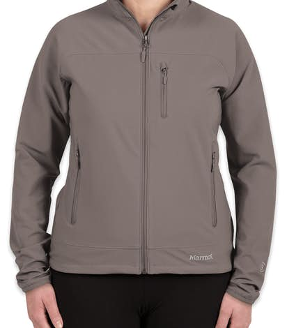 Marmot Ladies Lightweight Tempo Soft Shell Jacket - Cinder
