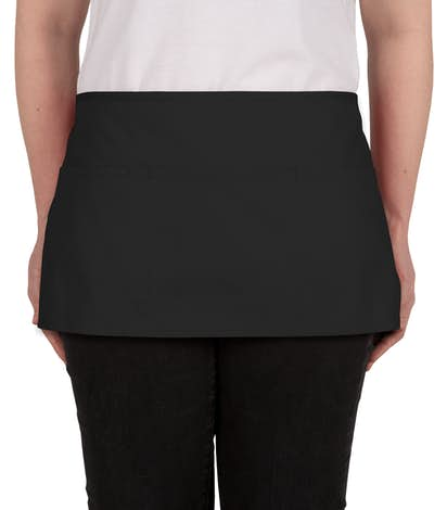 Stain Release Waist Apron - Screen Printed - Black