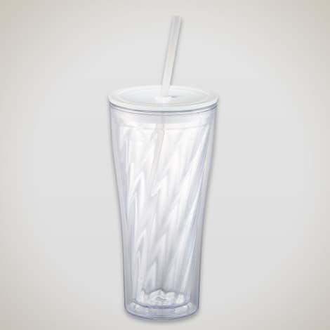 20 oz. Spin Tumbler - Clear