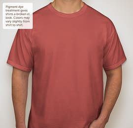 Comfort Colors 100% Cotton T-shirt - Color: Crimson