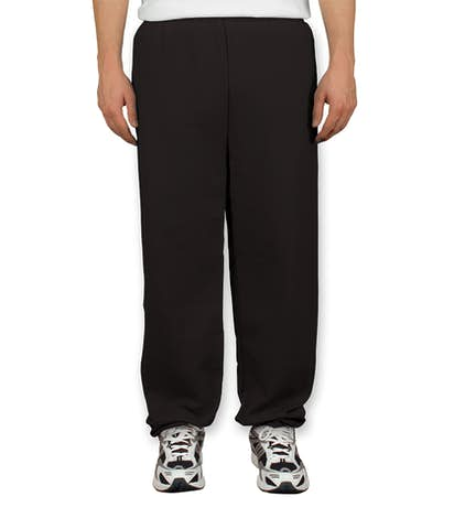 Gildan Midweight 50/50 Sweatpants - Black