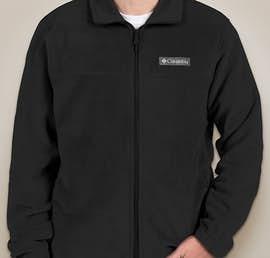 Columbia Steens Mountain Full Zip Fleece Jacket - Color: Black