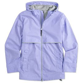 Charles River Ladies New Englander Hooded Rain Jacket