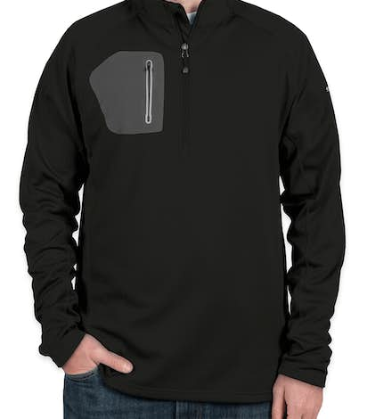 Eddie Bauer Half Zip Performance Pullover - Black