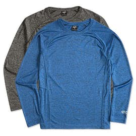 Rawlings Heather Long Sleeve Performance Shirt
