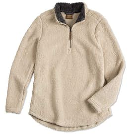 Charles River Ladies Newport Fuzzy Fleece Pullover