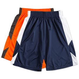 Augusta Colorblock Basketball Shorts