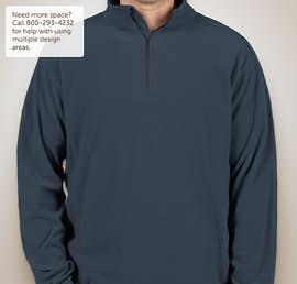 Columbia Crescent Valley Quarter Zip Microfleece Pullover - Color: Columbia Navy