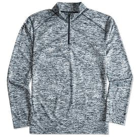 Badger Heather Quarter Zip Performance Shirt