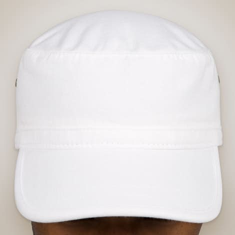 Comfort Colors Pigment Dyed Military Hat - White