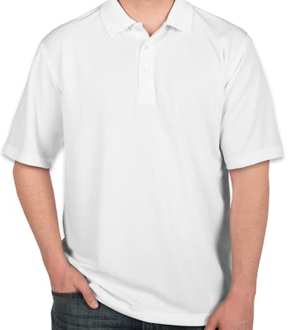 Ultra Club Cool & Dry Performance Polo - White