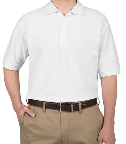 Devon & Jones Pima Pique Polo - White