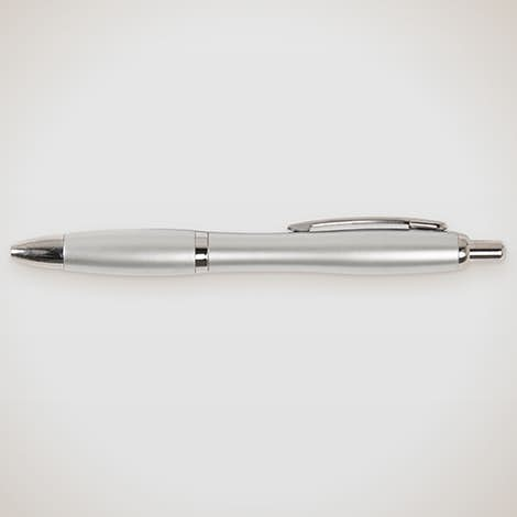 Nash Pen (black ink) - Silver