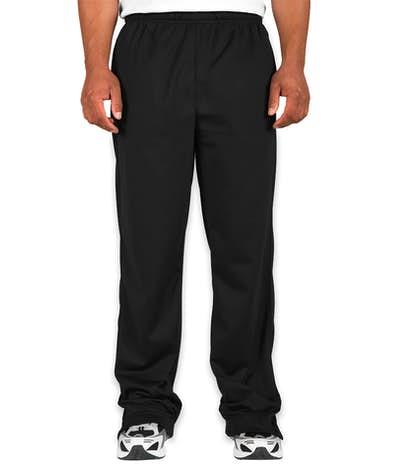 Sport-Tek Tricot Warm-Up Pant - Black