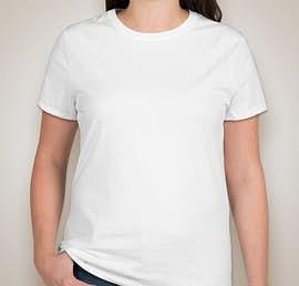 Hanes Ladies Nano-T - Color: White
