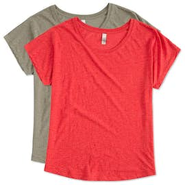 Next Level Ladies Tri-Blend Dolman T-shirt
